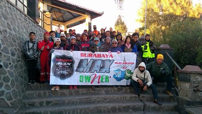 Surabaya Max Owner alias SUMO turing ke bromo sekaligus bhakti sosial januari 2016 (1)