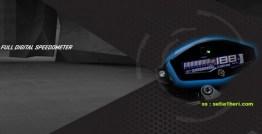 Yamaha Xabre Full Digital speedometer