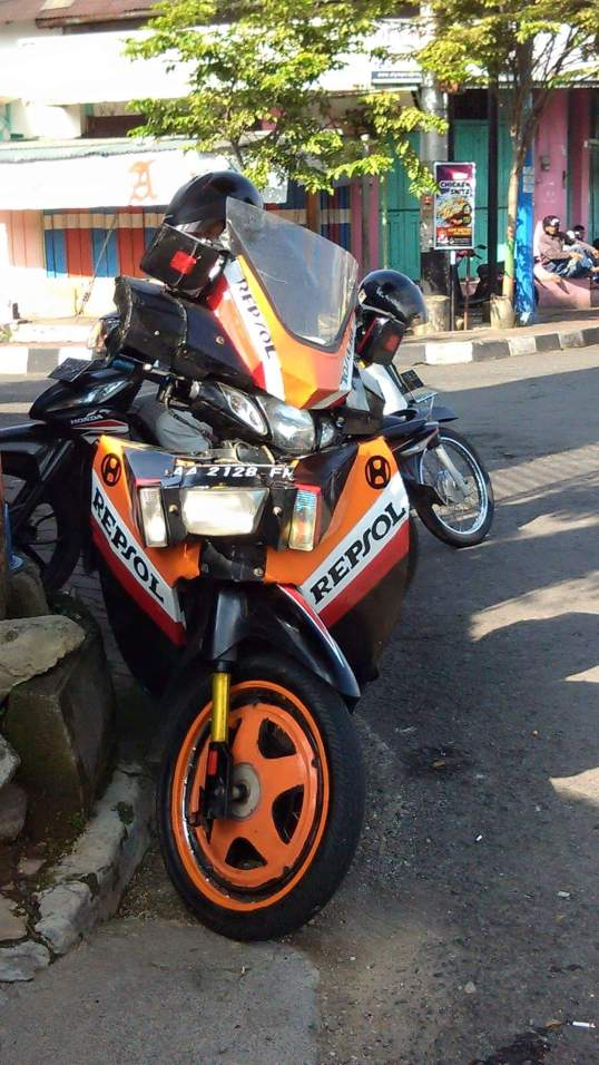 motor karisma plat AA modif out of the box tahun 2016