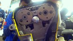 All New Satria F150 injeksi tahun 2016 dan daleman mesin alias cut engine (16)