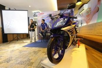 YZF-R15 Racing Blue tahun 2016