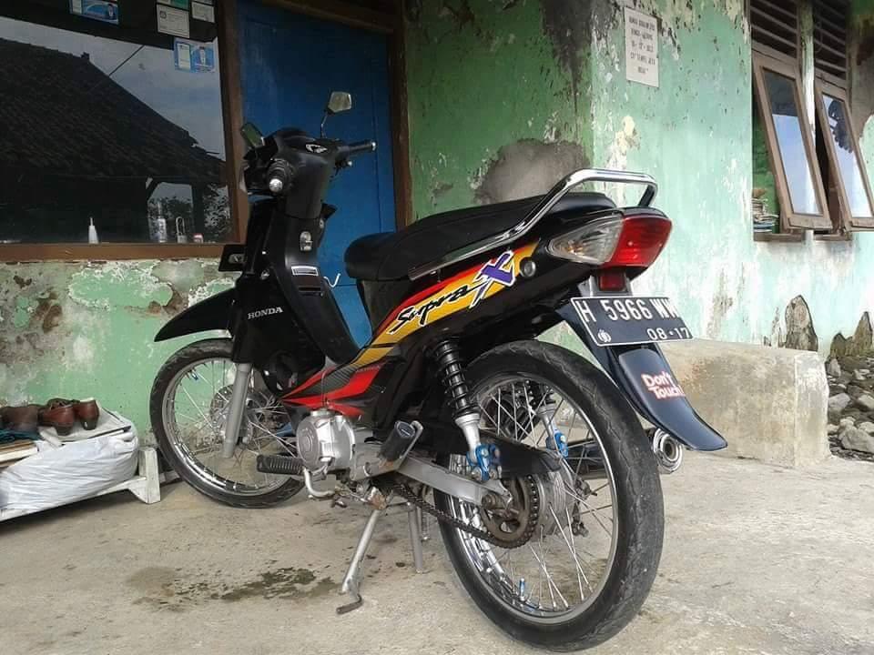 motor honda supra keluaran tahun 1999