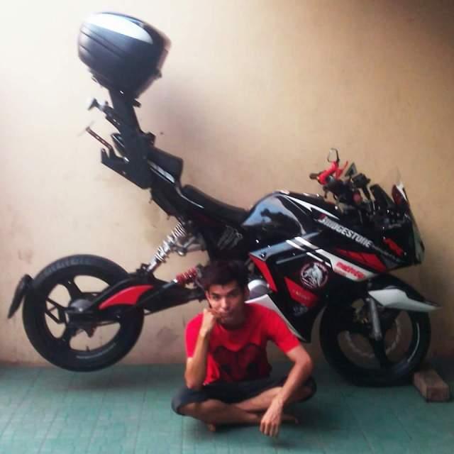 motor sport nungging habis punya bro Rendy Januari Aditia Prasatya