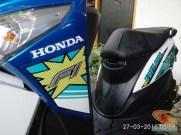 setia1heri njajal numpak New Honda BeAT POP eSP Comic Hits jenis Melody Blue White dengan tipe CBS tahun 2016 (21)