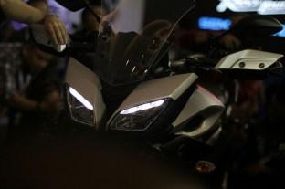Yamaha MT-09 Tracer di booth Yamaha di Indonesia International Motor Show (IIMS) 2016 (8)