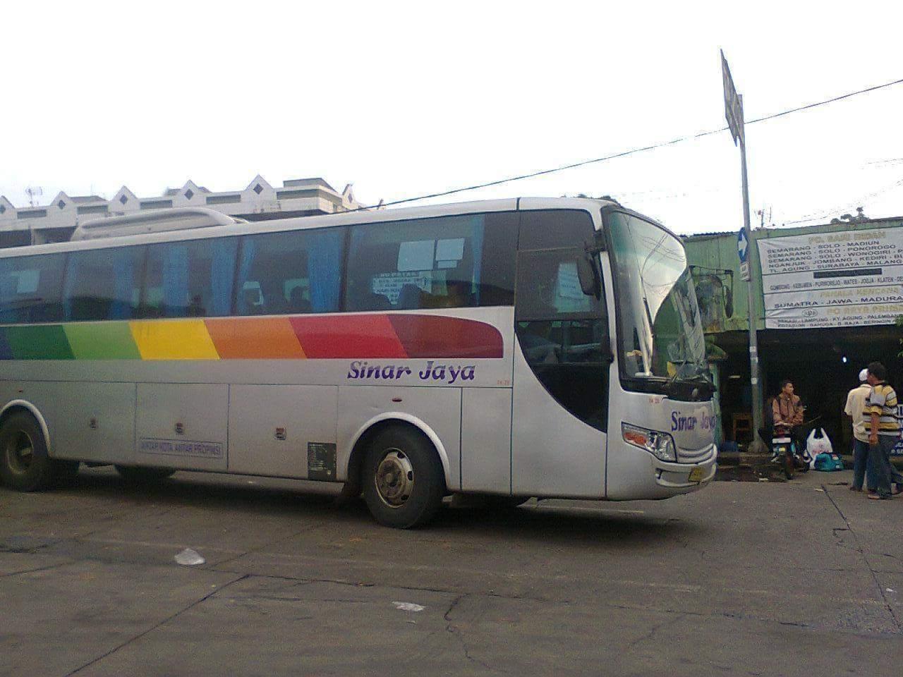 bus AKAP SINAR JAYA HILANG TAHUN 2016