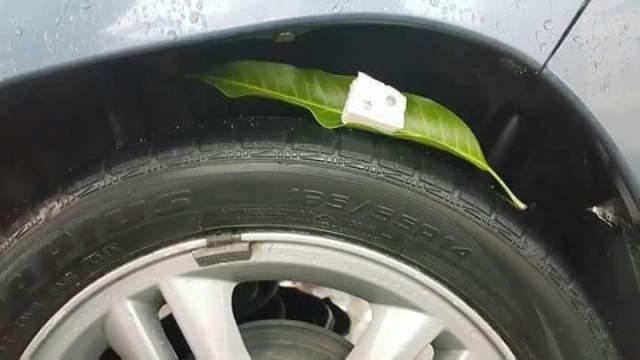 modus kriminal ranjau paku berbentuk daun paku di bawah bintaro jakarta tahun 2016