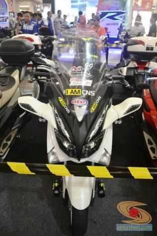 Ragam bentuk windshield, tameng, visor untuk modifikasi Yamaha NMAX (1)