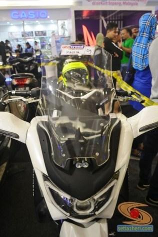 Ragam bentuk windshield, tameng, visor untuk modifikasi Yamaha NMAX (13)