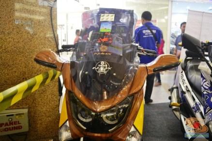 Ragam bentuk windshield, tameng, visor untuk modifikasi Yamaha NMAX (15)
