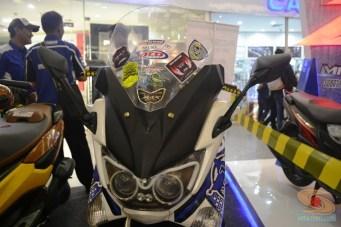Ragam bentuk windshield, tameng, visor untuk modifikasi Yamaha NMAX (16)