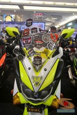 Ragam bentuk windshield, tameng, visor untuk modifikasi Yamaha NMAX (9)