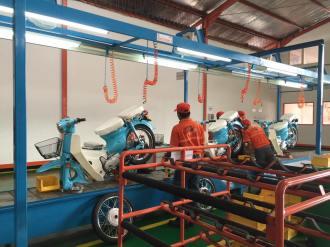 motor mirip honda pitung dirakit oleh gazgas indonesia tahun 2016 di pasuruan (4)