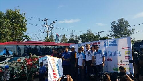 mudik balik yamaha 2016 bersama Pt stsj dan radar Surabaya ~02