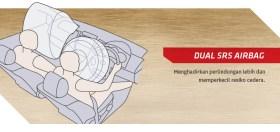 sensor dual airbag