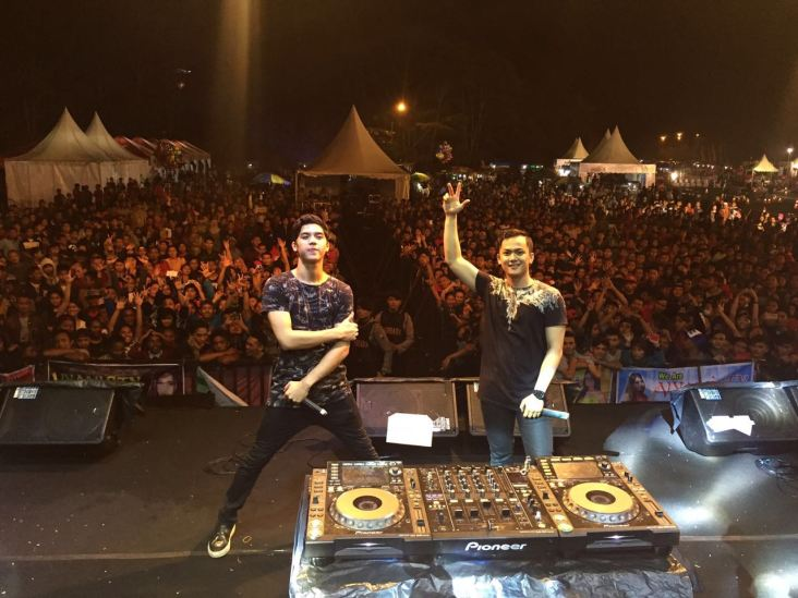 DJ Al-ghazali di Honda Sonic Infastion Malang 2016