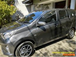 Toyota calya tipe g AT warna grey atau abu2 metallik 2