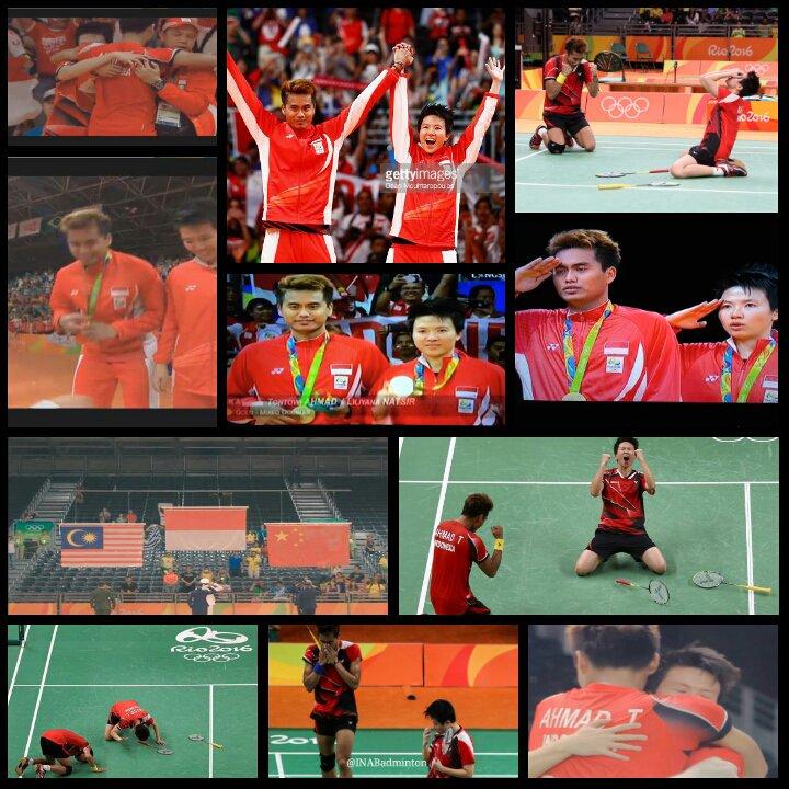 emas untuk indonesia kado HUT RI ke-71 dari Owi dan Butet di Olimpiade Rio 2016