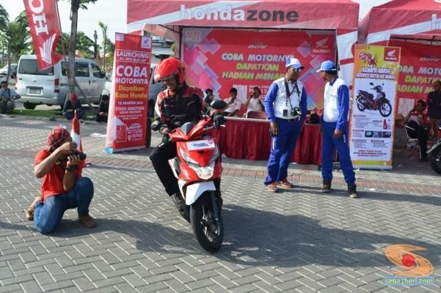 test ride honda beat esp tahun 2016