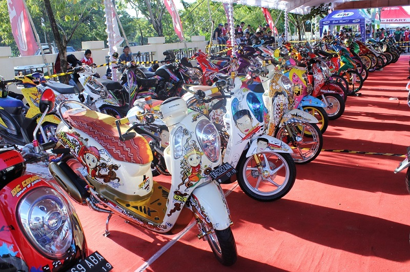 Final battle Honda Modif COntest 2016 di jakarta (2)