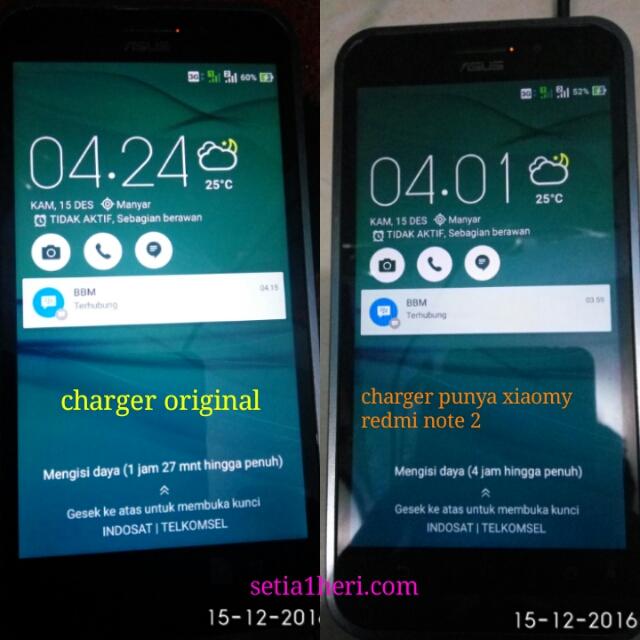 cara charging Asus ZenFone Max (ZC550KL)