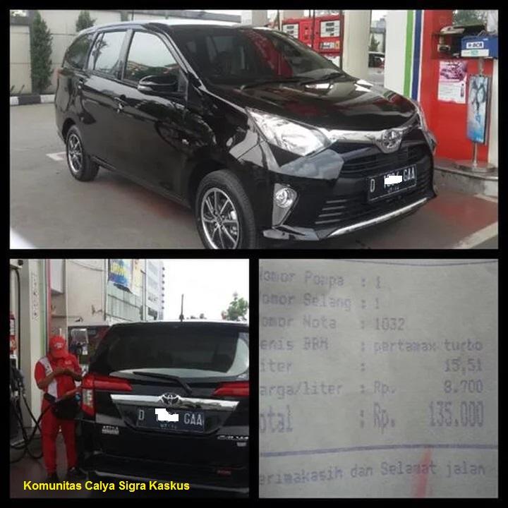 Kumpulan konsumsi BBM Toyota Calya dan Daihatsu Sigra ...