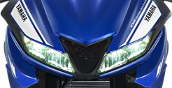 lampu depan yamaha r15 v3 tahun 2017