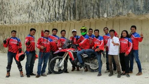 peluncuran honda CRF250Rally tahun 2017 di Bukit Jaddih Madura ~04