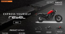 pilihan warna honda cmx 500 rebel