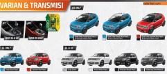 6 pilihan warna Suzuki Ignis tahun 2017