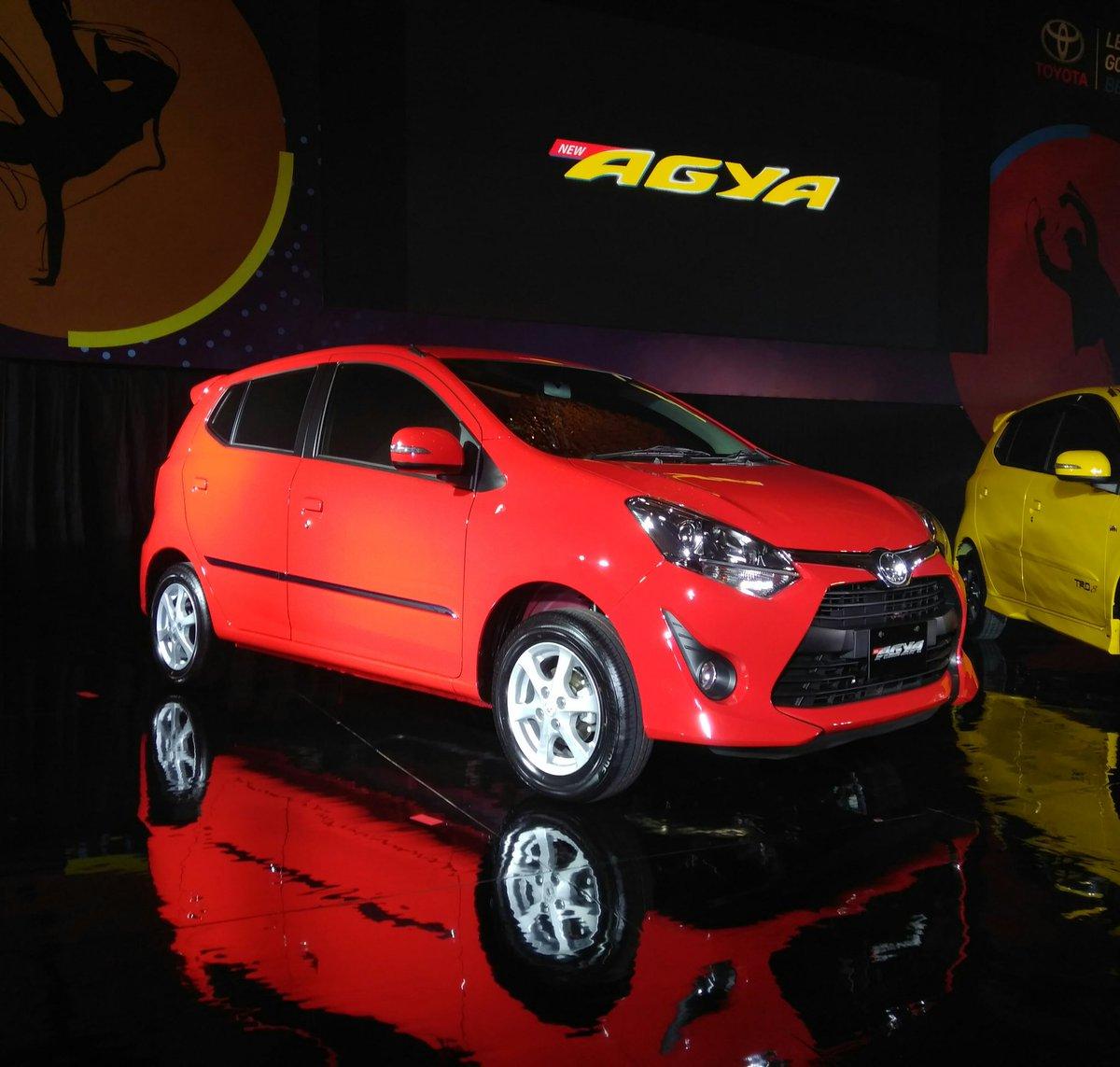 All New Toyota Agya Tahun 2017 Warna Merah Setia1hericom