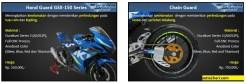 Daftar SARP Cobra Series untuk Suzuki GSX R-10 dan GSX S-150 tahun 2017