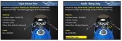 Daftar part aftermarket SARP Cobra Series untuk Suzuki GSX R-10 dan GSX S-150 tahun 2017