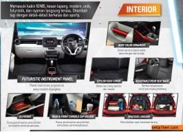 Interior Suzuki Ignis tahun 2017