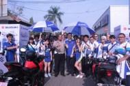 Touring Suzuki GSX-S150 T4KLUKKAN BA7ASAN Jelajah Pulau Jawa tahun 2017 (1)