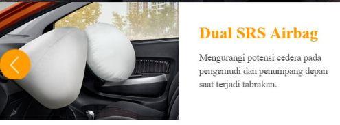 dual airbag all new daihatsu ayla tahun 2017