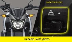lampu hazard di All New Vixion facelift tahun 2017