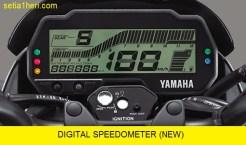speedometer All New Vixion facelift tahun 2017