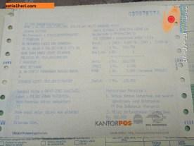 tarif kirim barang ke malaysia via EMS pos Indonesia tahun 2017
