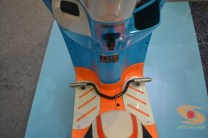 Honda scoopy velg 12 inch tahun 2017 modifikasi playful white blue (20)