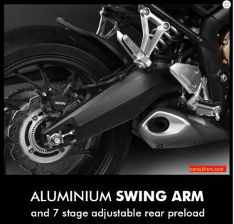 swing arm moge honda cb650f tahun 2017