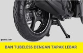 ban tapak lebar yamaha x-ride 125 cc tahun 2017