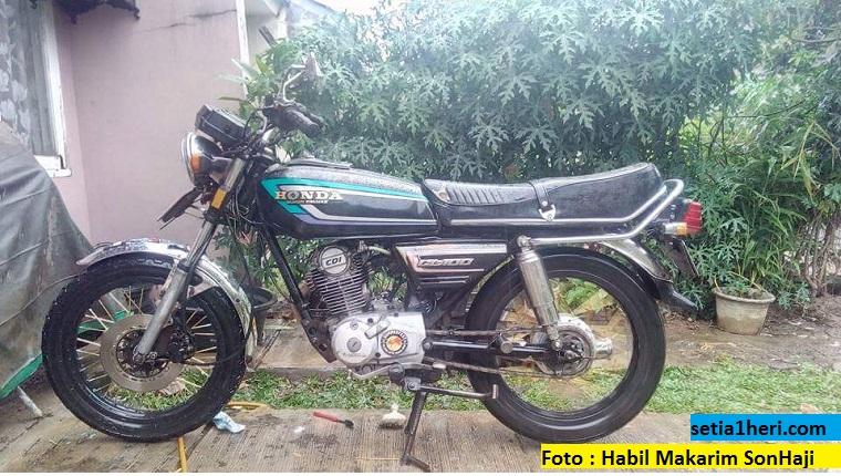 Honda Gl 100 Modifikasi Setia1heri Com