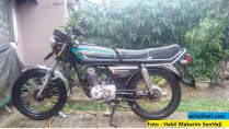honda gl 100 modifikasi