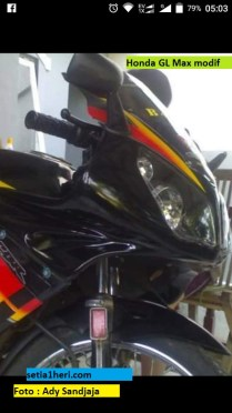 honda gl max modifikasi full fairing
