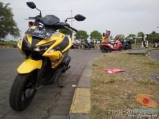 KHS Ngincipi Yamaha Aerox 155 VVA buat harian wira-wiri Gresik - Surabaya (2)
