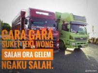 Kumpulan Tulisan kaca samping truck canter yang bikin gerrr.....gerrr... (23)