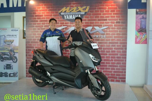 harga motor Yamaha XMAX 250 tahun 2017 di Kota Surabaya ~02