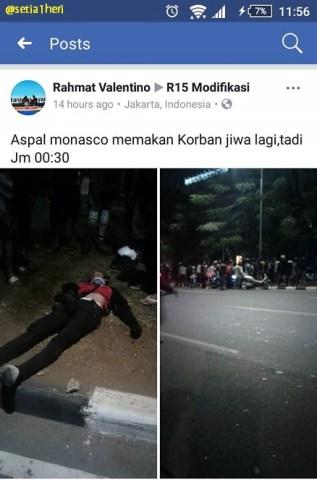 kecelakaan di monasco