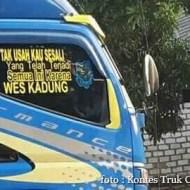 Kumpulan Tulisan lucu di kaca samping truk ....hehehe....gokil 2017 (17)